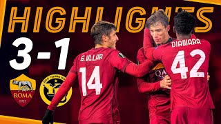 Roma 3-1 Young Boys | UEL Highlights 2020-21