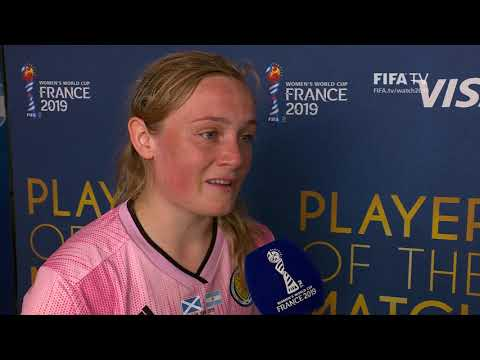 Erin Cuthbert – Player of the Match – Scotland v Argentina - YouTube