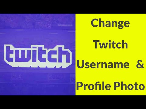 How To Change Name On Twitch 2020 - Think Big