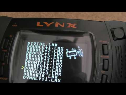 Atari Lynx SD Multicart / Flashcart (Retro HQ) Menu Update