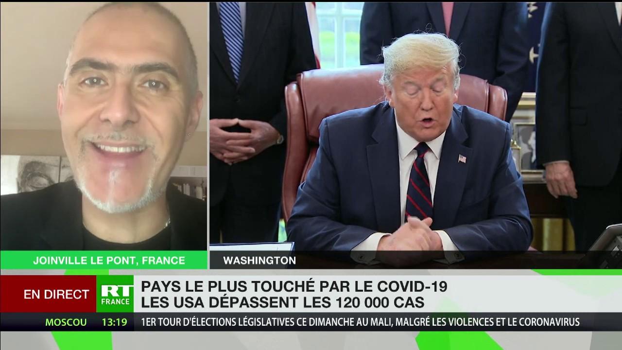 Covid-19 : François Durpaire fait le point sur la situation aux Etats-Unis