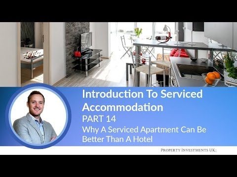 🔵 Why A Serviced Apartment Can Be Better Than A Hotel