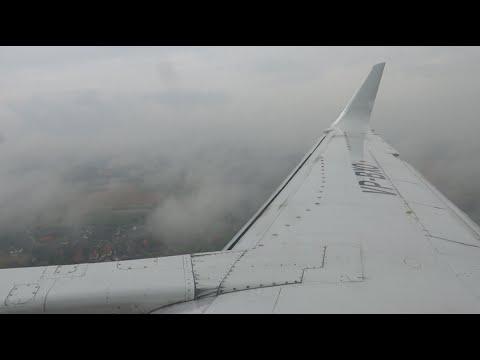 Utair B737-500 bad weather landing in Hannover!