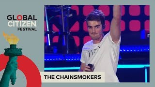 The Chainsmokers Perform 39 Honest 39 Global Citizen Festival
