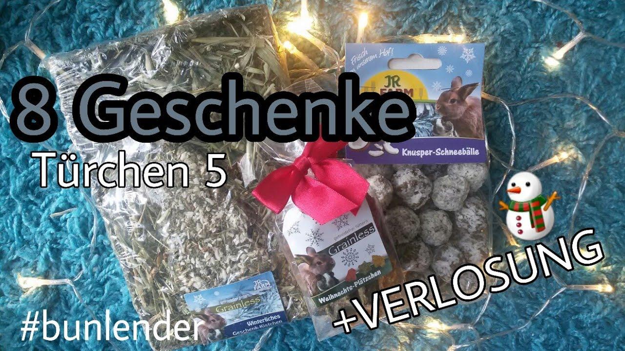 8 Weihnachtsgeschenk-Ideen für Kaninchen 🎁❄ Türchen 5 + VERLOSUNG ...