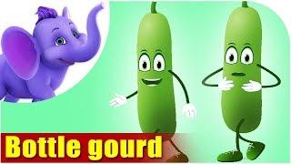 Bottle gourd - Vegetable Rhyme
