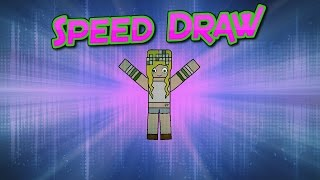 Minecraft Speed Draw of Victoriasteffens