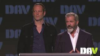 Mel Gibson & Vince Vaughn Speak About Veterans And Hacksaw Ridge At DAV's 95th National Convention