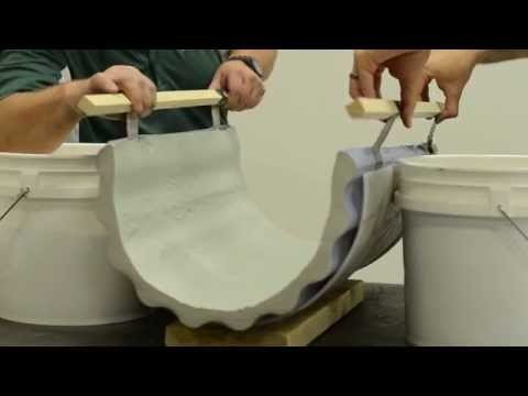 How To Bending Concrete Casting into Furniture Design