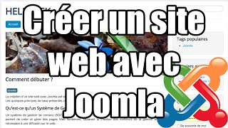 [TUTO] - Créer un site web avec JOOMLA