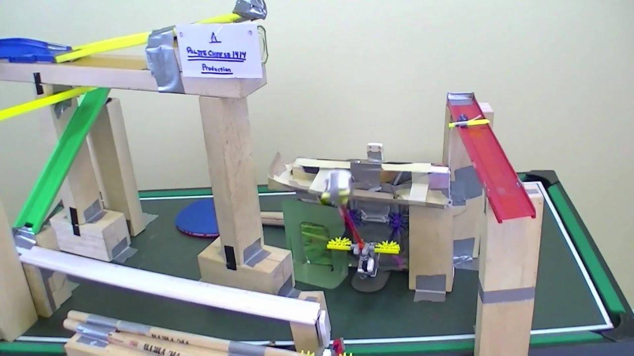 coolest rube goldberg machine