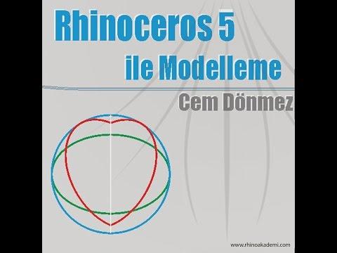 Rhinoceros 5 ile Modelleme