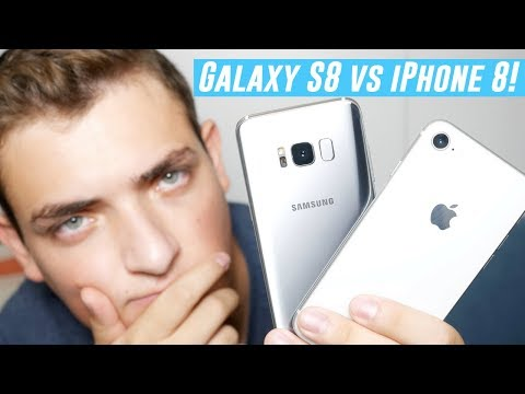 Apple iPhone 8 vs Samsung Galaxy S8! Which Should You Get?