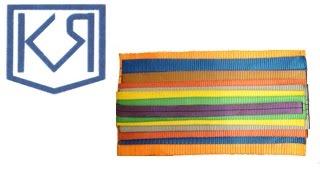 видео Нейлоновые текстильные ленты