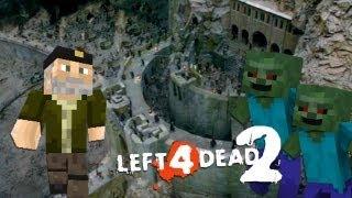 A Por El Bronce!! con Rubius (Abismo de Helm L4D2 Minecraft Mod) [Parte 2]