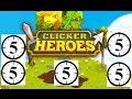 "1659 CLICKS ""CLICKER HEROES 5 MINUTE CHALLENGE #1"""