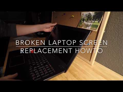 Fix Broken Laptop Screen HOWTO