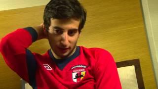 Интервью Георгия Чантурия официальному сайту клуба