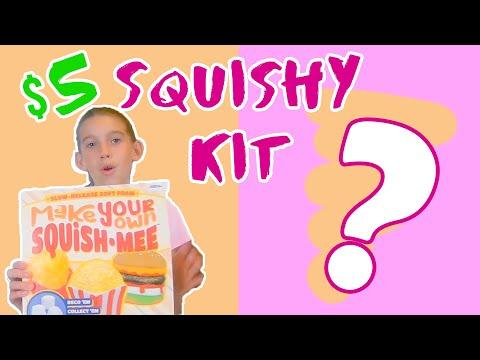 Testing A 5$ DIY Squishy Kit   WAS IT WORTH IT??   DIY Squishies From 5 Below