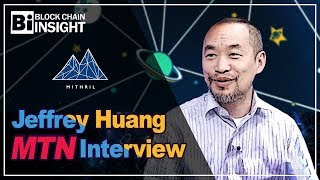Mithril Coin on Korean TV - Jeffrey Huang Founder MTN Interview