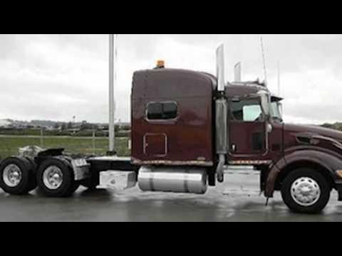 2009 Peterbilt 386 Sleeper Truck For Sale Youtube