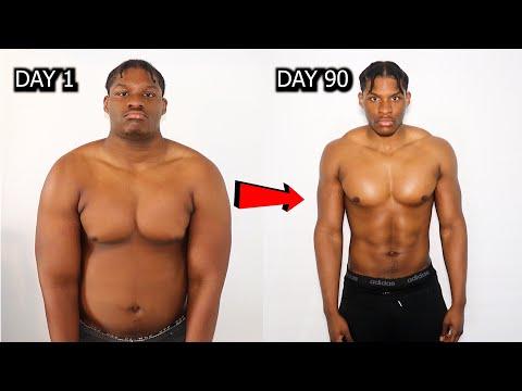 Crazy 90 Day Transformation During LOCKDOWN   NO GYM