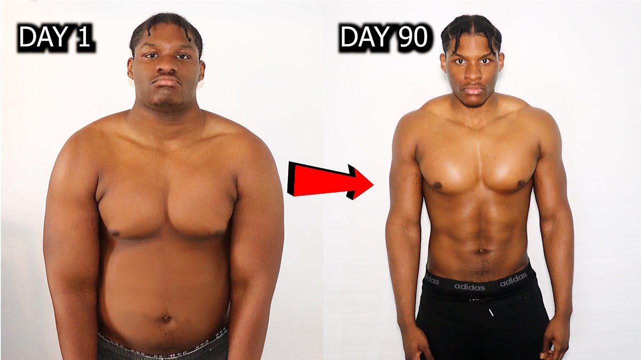 Download Crazy 90 Day Transformation During LOCKDOWN   NO GYM