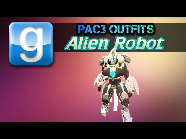Pac3 Outfit Alien Robot (ENVOY) No DL