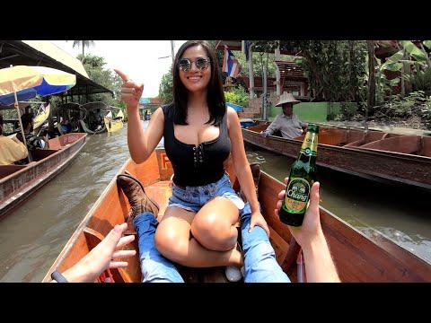 Thailand's Best FLOATING MARKET? 🇹🇭