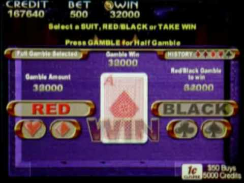 5 double ups on 5 Queens Max Bet Indian Dreaming pokie