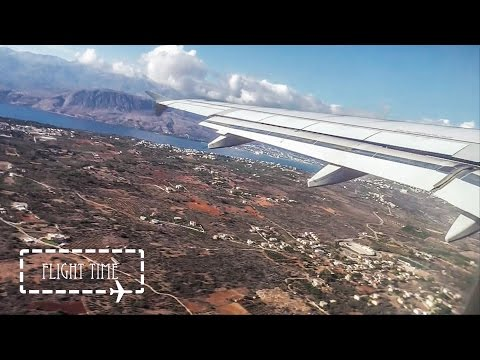 Beautiful Aegean Airlines Airbus A320 Take off Chania (CHQ/LGSA)