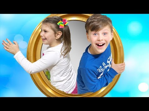 ALİ KARDEŞİYLE SİHİRLİ AYNADAN OYUN ALANINA GİRDİ! Magic Mirror to Indoor Playground, Pretend Play