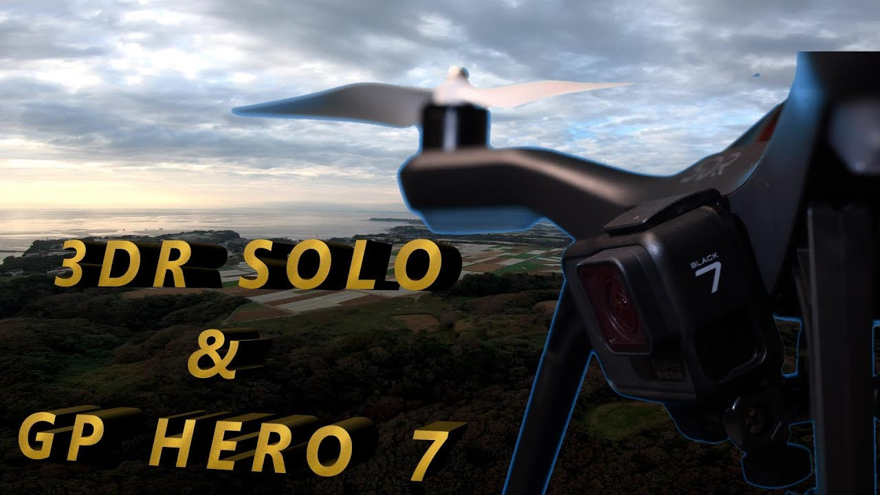 Gopro Hero 7 + 3DR Solo No Gimbal Test