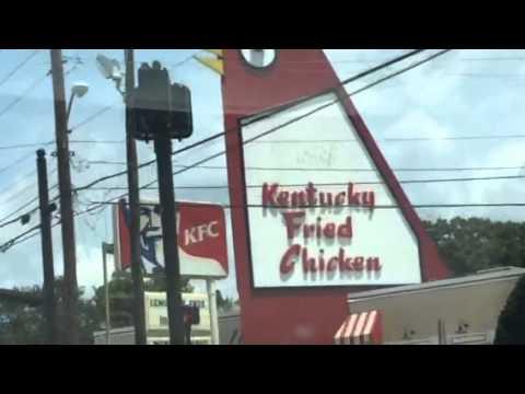 the big chicken kfc in marietta ga youtube