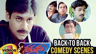 Thammudu Telugu Movie Comedy Scenes | Pawan Kalyan | Brahmanandam | Preeti Jhangiani | Mango Videos