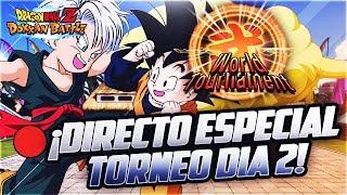 🔴 DIRECTO! 20Th World Tournament! Día 2 | Dokkan Battle En Español