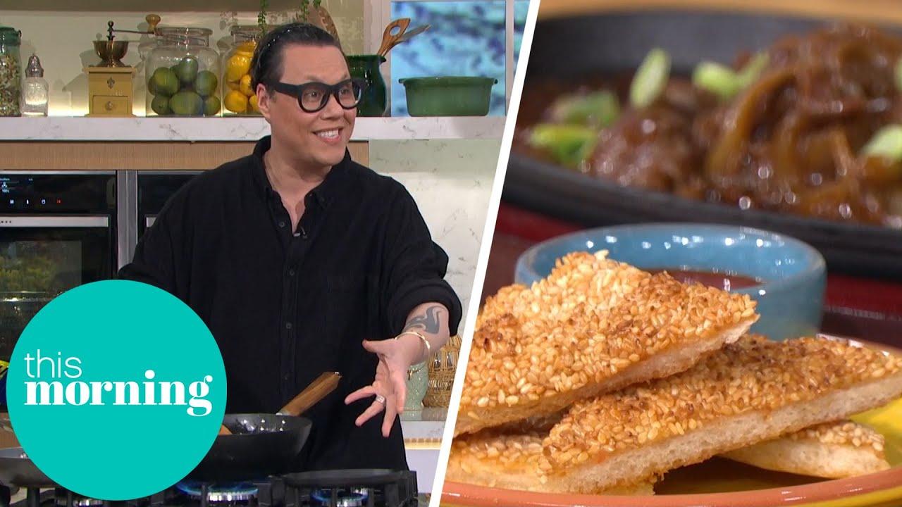 Gok's Home Made Prawn Toast Impresses Alison & Dermot | This Morning