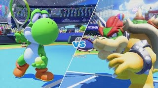Mario Tennis: Ultra Smash Walkthrough Part 10 - Knockout Challenge (Unlocking Star Yoshi)
