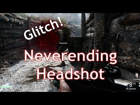 [Glitch] Call of Duty: World War II  : Neverending Headshot