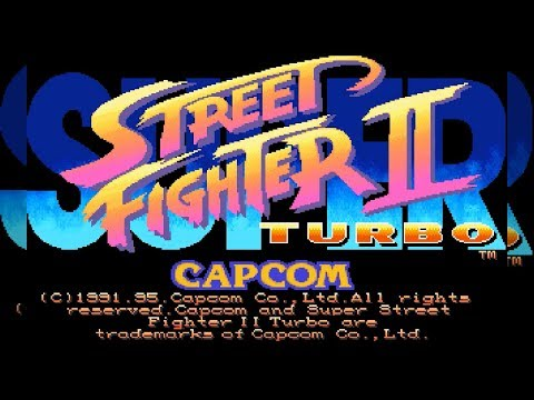 [悲惨移植] SUPER STREET FIGHTER II Turbo for DOS [ムティアクティア]