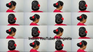 Easy Wedding/party hairstyle with banana clip || hair style girl || wedding hairstyles ||hairstyles