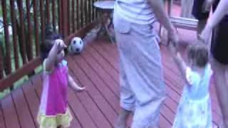 Marianna, Sophia and Katerina Greek Dancing