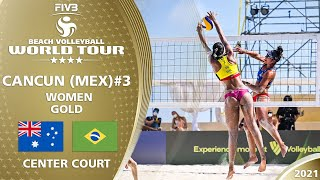 Clancy/Artacho del Solar vs. Agatha/Duda - Full Final | 4* Cancun 2021 #3