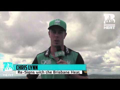 Chris Lynn Thanks Brisbane Heat Fans