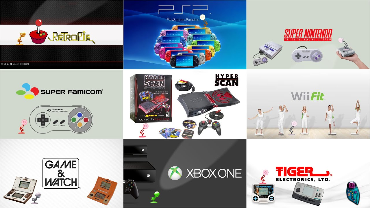 Top 9 (Part-2) Game Devices Spoof Pixar Lamps Luxo Jr Logo
