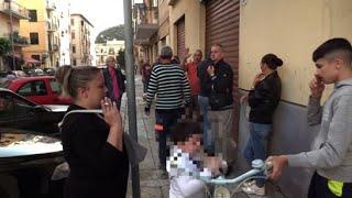 Aggressione Striscia la Notizia, sgomberati alloggi a Palermo