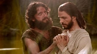 Jesus is Baptized by John