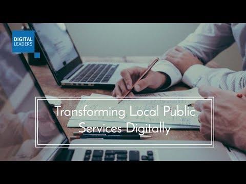Webinar: Transforming Local Public Services Digitally