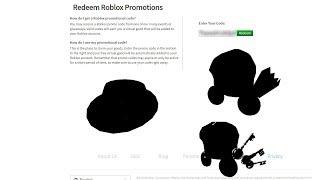 Roblox Promo codes 2019 *READ DESC*