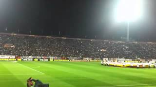 Ultras - PAOK FANS,paok benfica 2014